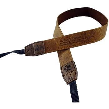 Matin M-7540 Vintage 30 Courroie en cuir pour appareil photo Marron