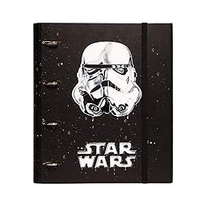 Grupo Erik Editores Star Wars Classic Trooper - Carpeta con 4 anillas troquelada, 32 x 27.5 cm 9