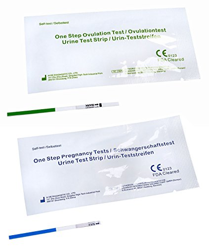 30 x One+Step Ovulationstest 20 mIu/ml + 5 x One+Step Schwangerschaftstests 10 mIu/ml