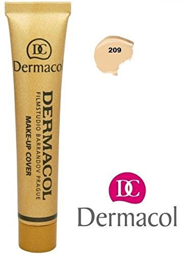 Dermacol Make-UPO COVER (Foundation Decken Alle Narben oder Tattoos)