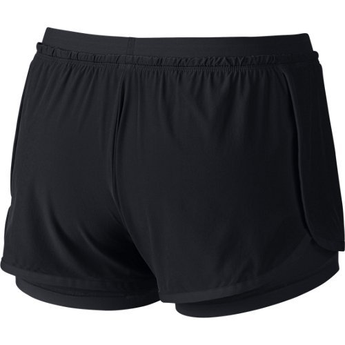 Nike Beinkleid Full Flex 2 in 1 Shorts Women Schwarz