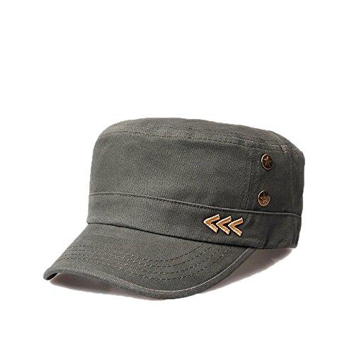 6c8f84a62e4 Nameblue Women Men s Cotton Adjustable Army Cap Military Hat Baseball Caps  Sun Hat V143X0028-army