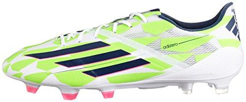 Adidas F50 adizero FG Boots Core White M17679 weiß / neongrün