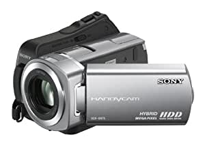Sony DCR-SR75 Camcorder (Flash / HDD, 60GB, 25-fach opt. Zoom, 6,9 cm (2,7 Zoll) Display, Bildstabilisator)