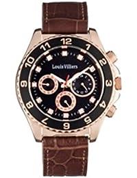 Louis villiers-Reloj de pulsera para hombre