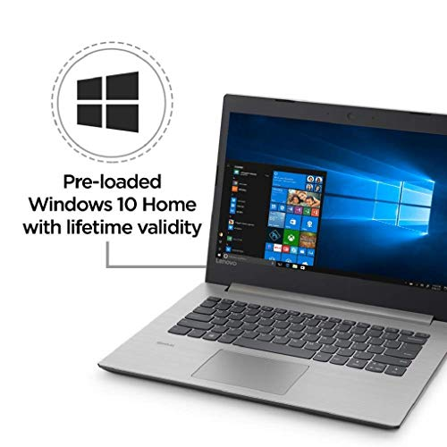 Lenovo Ideapad 330 7th gen Intel Core i3 15.6-inch FHD Laptop (4GB/1TB HDD/Windows 10/MS Office 2019/Platinum Grey/2.2Kg/with DVD-RW), 81DC01A1IN Image 2