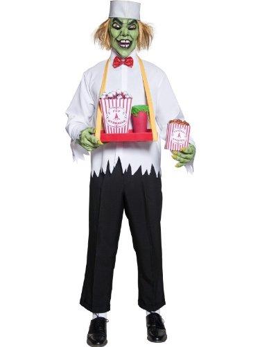 Imagen de disfraz siniestro vendedor de palomitas para hombre