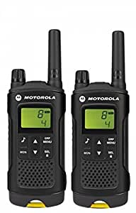 Motorola Paire de talkies walkies 8 km Noir