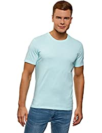 644248885 oodji Ultra Hombre Camiseta Básica