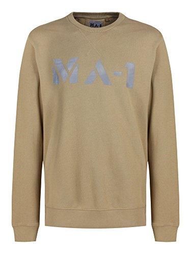 Modern Asthetics Herren Sweatshirt Stone