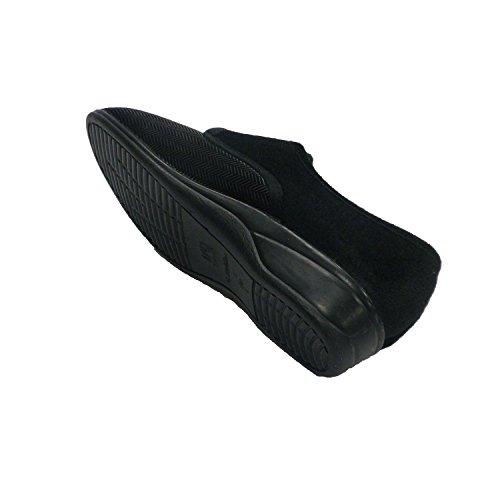Schuh Frau Winter Typ Schuh Doctor Cutillas schwarz Schwarz