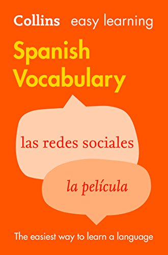 Easy Learning Spanish Vocabulary (Collins Easy Learning Spanish) (Spanish Edition)
