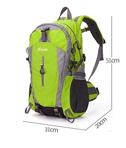 zaino trekking arrampicata all'aperto uomini e donne borsa tracolla modelli paio 40L zaino trekking Zaini da escursionismo ( Colore : Blu , dimensioni : 40L ) Blu