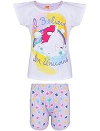 Minions Despicable Me Chicas Pijama mangas cortas - Blanco