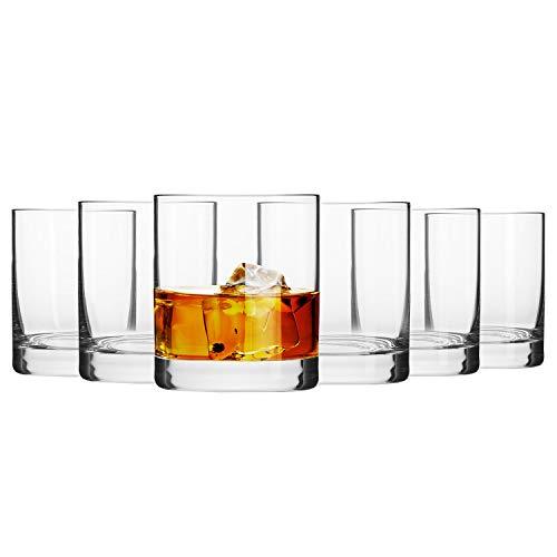 Krosno Vasos Copas Whisky | Conjunto 6 Piezas | 300