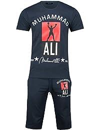 230ffc81d2d5 Herren Trainingsanzug   MUHAMMAD ALI Champion   Hose + Hoodie   SLIMFIT