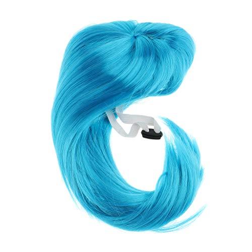 B Blesiya Pet Perücke Kopfschmuck Hund Katze Cosplay Wigs Halloween Kostüm Festival Party Kleidung für alle Medium und Large ()
