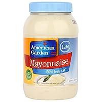 American Garden Lite Mayonnaise Sauce - 887 ml