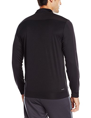 adidas Mens Training Climacool Long Sleeve 1/4 Zip Jacket Black
