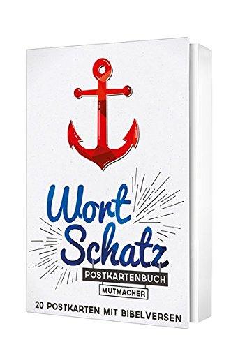 WortSchatz: Mutmacher - Postkartenbuch: 20 Postkarten mit Bibelversen.
