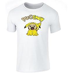 Camiseta con diseño un pokemon pug
