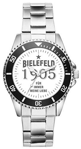 Bielefeld Geschenk Artikel Idee Fan Uhr 11005