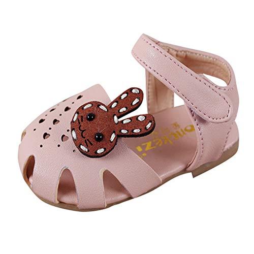 Quaan-Kinder Schuhe Infant Kleinkinder Girls Elegant Bowknot Pearl Single Princess ()