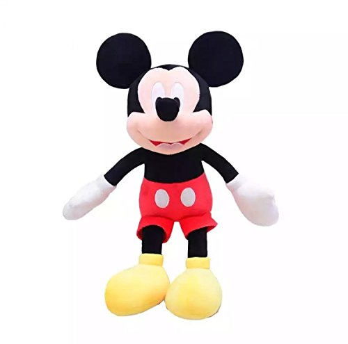 Wonderland's Disney Character Mickey Mouse Soft Toy 40 cm | Gift for Kids,Babies | Soft Toys for Kids Girls,Boys