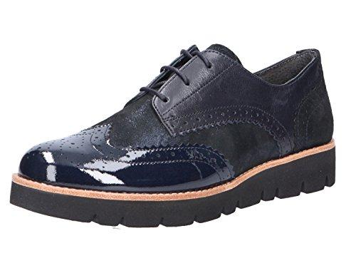 Gabor 72.568.36 36, Chaussures À Lacets Blau Pour Femmes