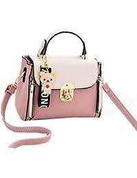 2724122a2cd78 Xiuy Umhängetasche Damen Fashion Handtasche Datierung Kawaii Frauen  Schultertasche Mit Bärenornamenten Messenger Bag Mini Kleine…