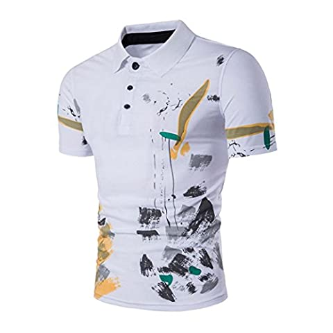Men Shirt, Xinantime Men Casual Polo T-shirts Sports Short Sleeve