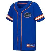 "Florida Gators NCAA ""Play Ball"" Youth Jeunes Button Up Baseball Jersey Maillot"