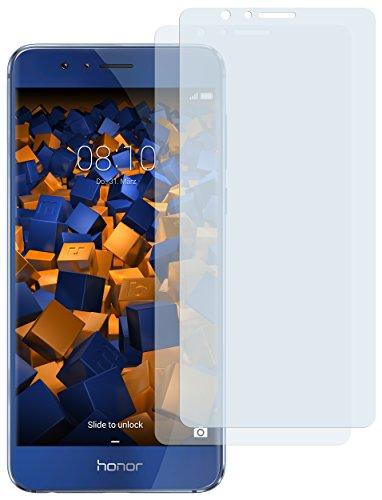 mumbi Schutzfolie kompatibel mit Huawei Honor 8 Folie klar, Bildschirmschutzfolie (2x)
