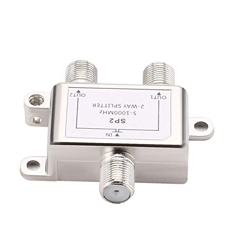 ghfcffdghrdshdfh 2 Way Cable Splitter Satellite Multiswich CATV Signal Mixer Digital Satellite Combiners Diplexers VHF UHF Video-signal Combiner