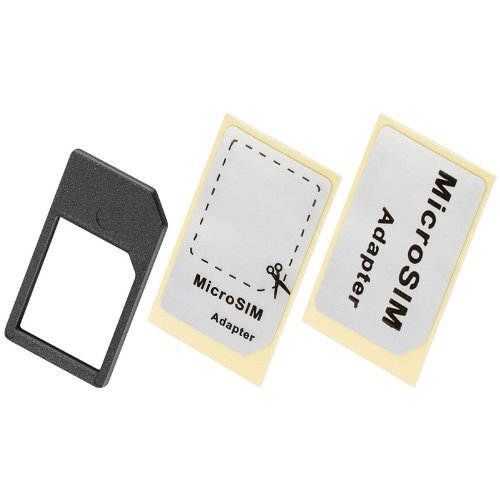 Preisvergleich Produktbild GWS-POWERCELL SIM-Kartenadapter von Micro SIM auf SIM Format 10 Stück
