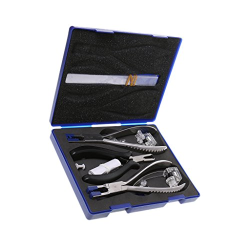 Randlose Brillen Reparatur Set, Zangen Set, Brillen Reparatur Werkzeug Set
