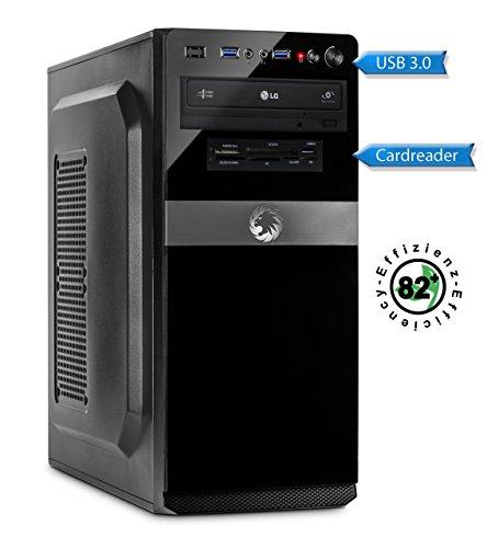 Memory PC Intel PC Core i5-7500 4X 3.4 GHz, ASUS, 8 GB DDR4, 240 GB SSD + 1000 GB Sata3/-600, Intel HD 630 Grafik 4K, ohne Windows