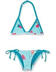 O 'Neill niña Oceano Triangle Bikini Bikinis, niña, Oceano triangle bikini, Grün Aop, 164