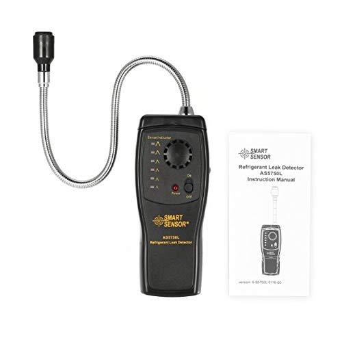 Smart Sensor AS5750L Kältemittel Lecksuchgerät Halogen Freon FCKW HFCKWs Gas Analyzer Tester Klimaanlage Monitor -