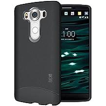 LG V10 Funda, TUDIA ultra delgado Mate Completa ARCH TPU caso de parachoques de protección Funda Carcasas para LG V10 (Negro)
