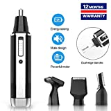 Nose Hair Trimmer for Men 2019 Professional Painless Eyebrows and Men's and Women's