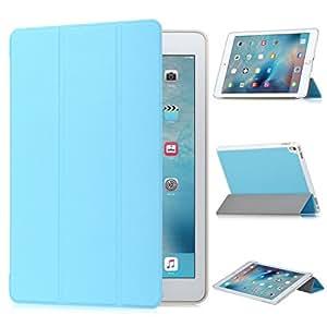 ipad pro 9.7 case, KuGi ipad pro 9.7 case - High quality ultra-thin Cover Case for Apple ipad pro 9.7 Tablet. (Blue)