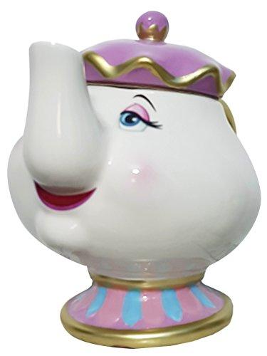 41n mMJLt8L - Primark DivasWorld Teekanne Madame Pottine, Disney Die Schöne und das Biest, Keramik