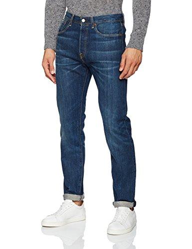 Levi's Herren Jeans 501 Tapered Fit Blau (La Nuit 78)