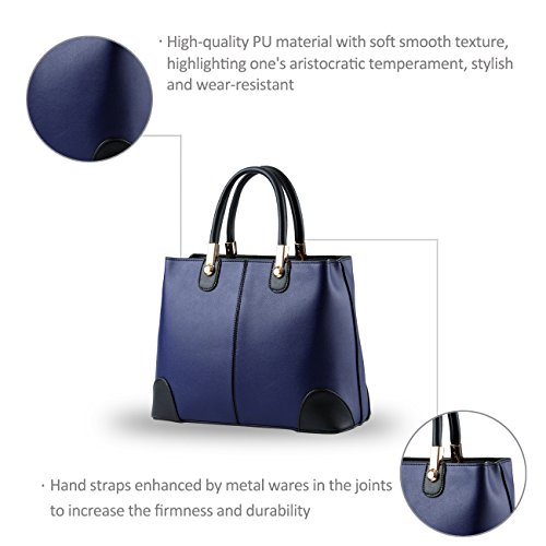NICOLE&DORIS donne nuove donne borsa borse moda borsa messenger -Schulterbreite della borsa(Pink) Sapphire
