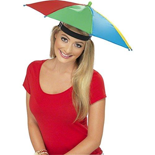 Regenschirm Mütze bunt Regenschirmhut Parapluie Partyhut Umbrella Faschings Hut Regenschirmmütze Partymütze