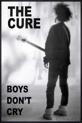 The Cure Poster (93x62 cm) gerahmt in: Rahmen schwarz