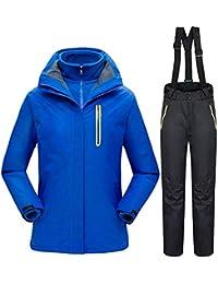 QZHE Traje de esqui Traje De Esquí De Montaña De Invierno para Mujeres A Prueba De Viento A Prueba De Viento Chaquetas De Snowboard +…
