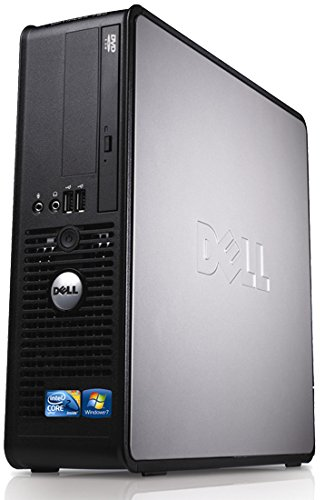 WiFi enabled Windows 10 Dell Optiplex Desktop PC, Dual Core, 4GB Ram, 160GB Hard Drive, DVD (Certified Refurbished)