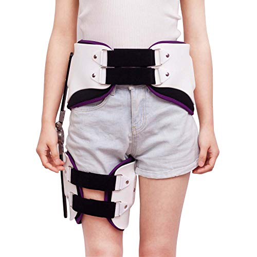 WJHJBB Gehstiefel, Medizinische verstellbare Halterung für die Fixierung der unteren Extremitäten, orthopädische Kniegelenkfixierung bei Knieverletzungen -